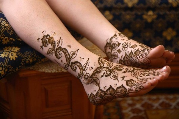 Mehndi Henna Design With Peacock Motif : Which is the most amazing design of mehndi heena you have ever