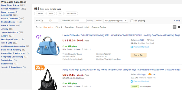 What is a good website for buying counterfeit branded goods