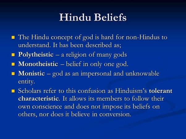 Why does Hindu mythology have many Gods? - Quora
