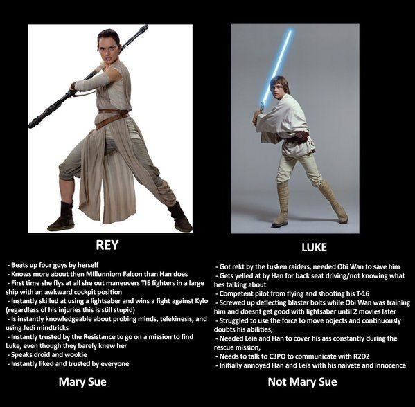 Image result for rey luke mary sue