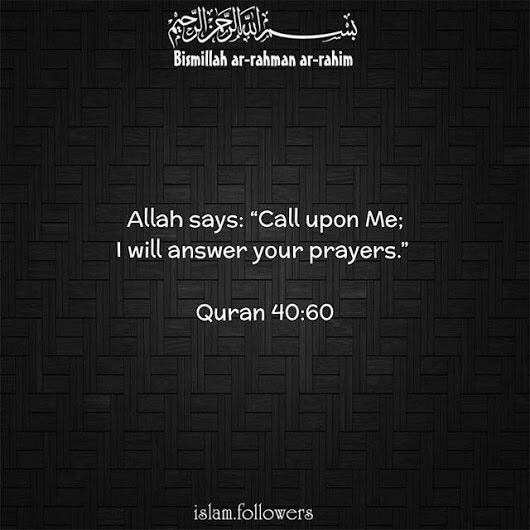 Has Allah ever answered your dua instantaneously? - Quora