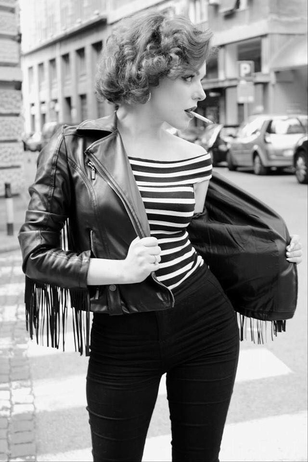 How to dress like a greaser girl - Quora
