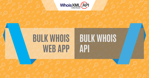 What are the best services for doing a bulk whois? - Quora