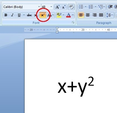 How Many Ways Are There To Type A Squared Symbol In Word And Which