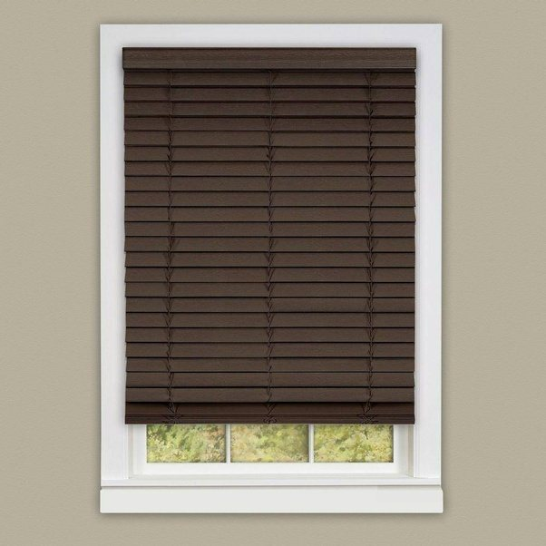 If You Have A Large Or Oversize Window Might Struggle When Raising Lowering This Blind However Faux Wood Blinds Are The Economical