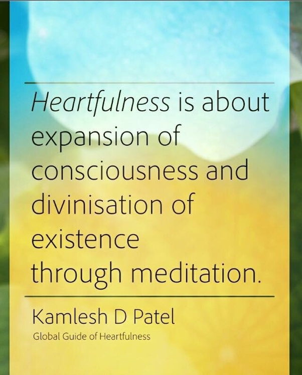 What is heartfulness meditation about? - Quora