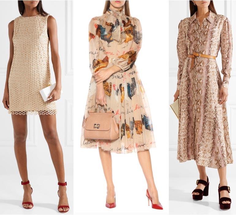 5c62a97953 What colour should I wear with a beige dress  - Quora