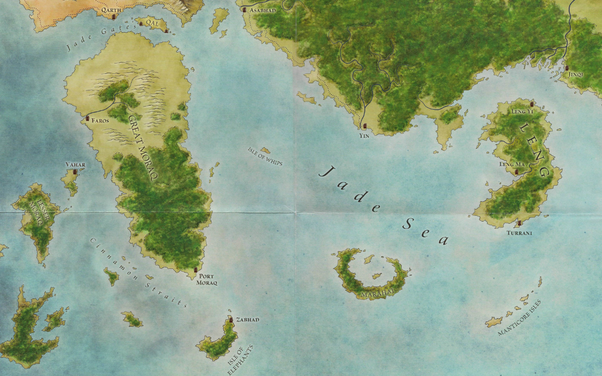 of ice and fire anthology and in the world of ice and fire there are three mentions of it mostly useless its the largest island in the maps