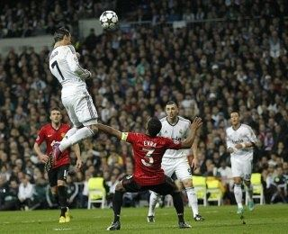 Against Manchester United In Uefa Champions League Round Of