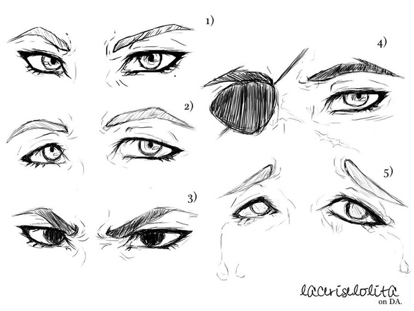 How To Improve The Way I Draw Anime Eyes Quora