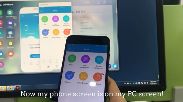 How to connect android phone screen to pc via usb