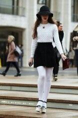 Why do women love to wear black tights?