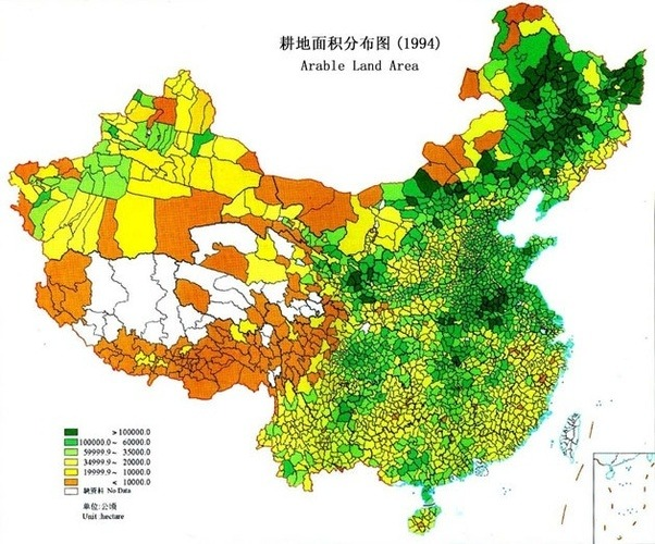 Why is Chinas east more populated than its west Given the fact