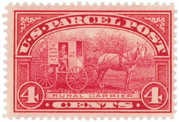 First living person on us stamp