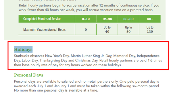 within the us they pay 1 12 times an hourly partners base pay heres an excerpt from their employee handbook