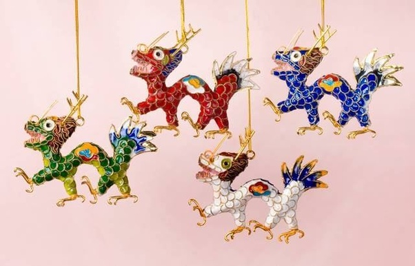 if you google chinese christmas ornaments or even ornaments in general you can find companies that will personalize them something like the following - Chinese Christmas Decorations
