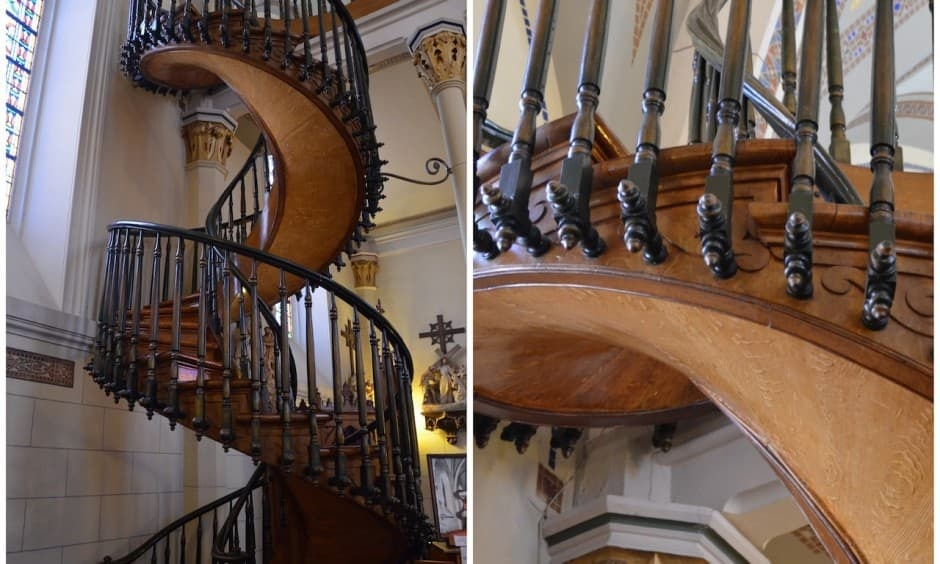 What Is The Mystery Behind The Loretto Chapel Staircase Quora
