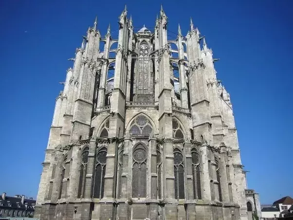 Designing And Constructing This Church Were Engineer Le Riche Martin Chambiges Generally Possess French Gothic Architectural Style