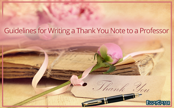 How to write a thank you note to a professor quora how can i write a thank you note to a professor negle Choice Image