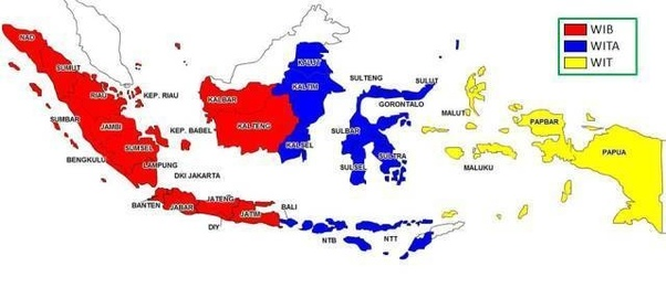 what is the time in indonesia now
