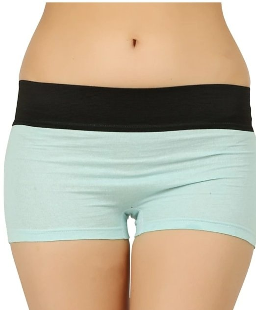 Inspired from men's briefs, these are rectangular on the thighs unlike  regular panties. They are almost similar to hipsters, but have a lower-cut  leg.