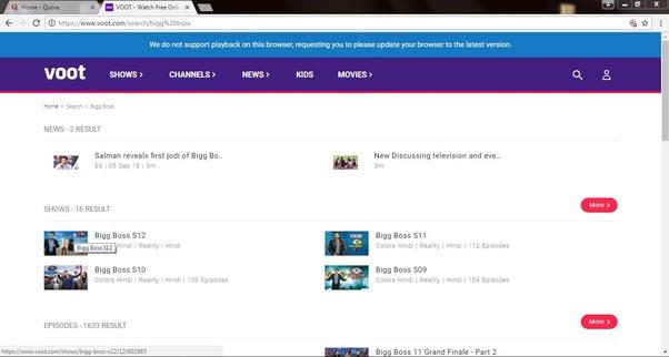 How to watch Big Boss Season 9 online - Quora