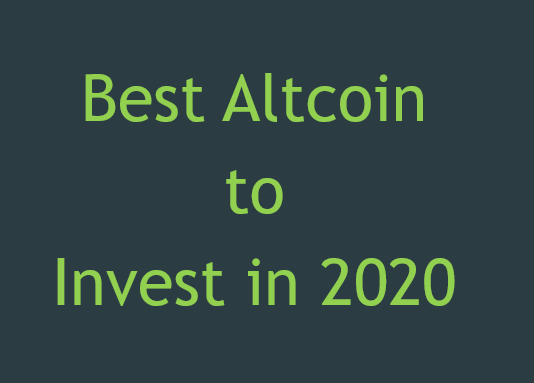 the best cryptocurrency to invest in 2021