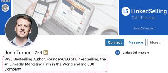 Linkedin What Makes A Linkedin Profile Great Quora View josh potter's profile on linkedin, the world's largest professional community. linkedin what makes a linkedin profile