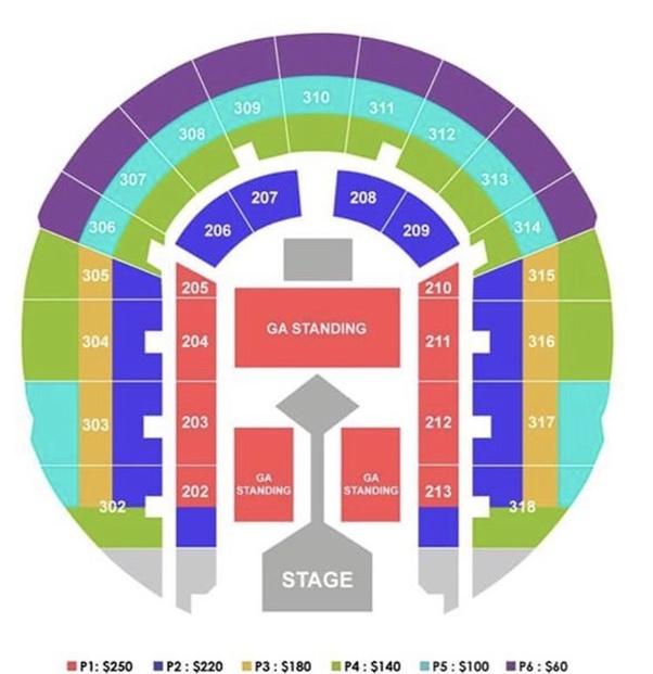 Bts concert manila  ticket price