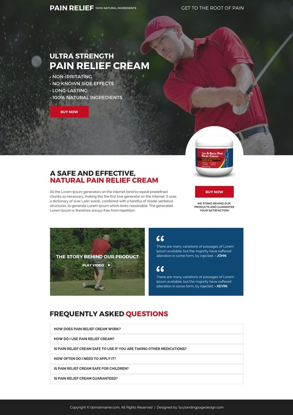 Where can I find professional landing page design templates for ...