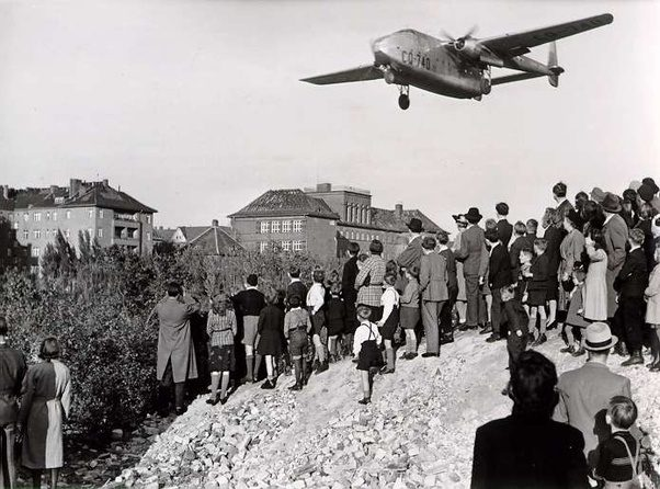 the berlin airlift in 1948 resisting soviet aggression
