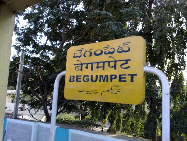 Why don't people speak Telugu in Hyderabad even if it's