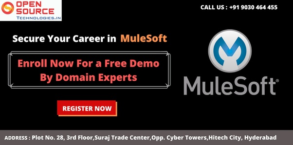 What are the institutes that train in MuleSoft in Hyderabad? - Quora