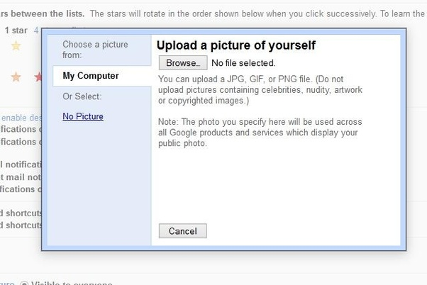 How to change my profile picture on Gmail - Quora