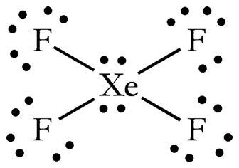 How can the Lewis structure for XeF4 be determined? - Quora  How can the Lew...