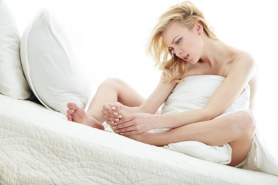 Why do my feet hurt when I lay down in bed? - Quora