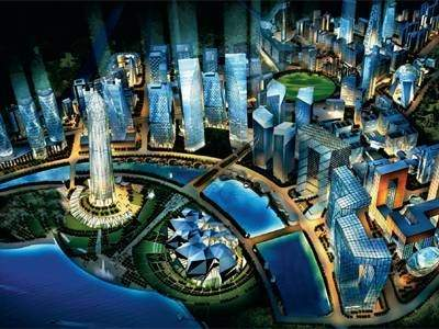 Do you think the gift city project in gandhinagar gujarat will providing a lot of tax and fiscal incentives to set up financial services as well other high tech facilities this is how the city has been envisaged negle Images