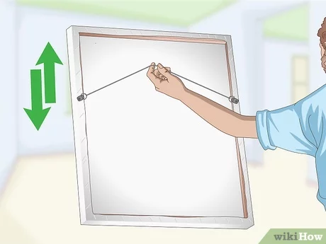 To Hang A 100 Pound Mirror On Drywall, Hang Heavy Mirror Drywall