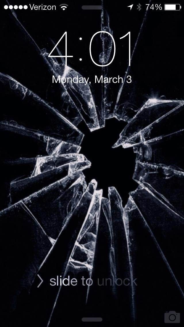 cracked screen hd wallpaper iphone 6