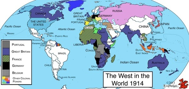 At which point in history did the world contain the least amount propose that the year 1914 saw the world divided in the least amount of countries with vast regions of africa and asia as part of colonial empires gumiabroncs Image collections