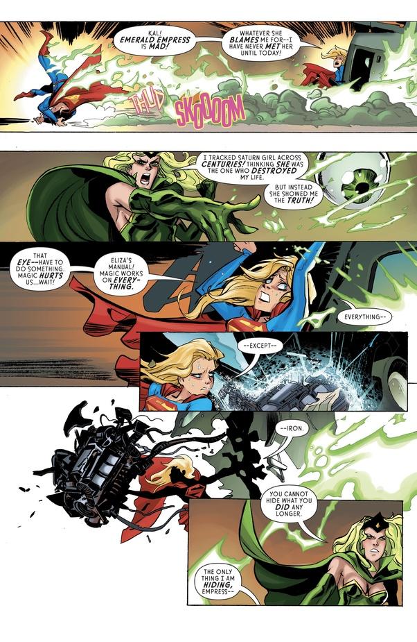 Is Superman really weak to magic? - Quora