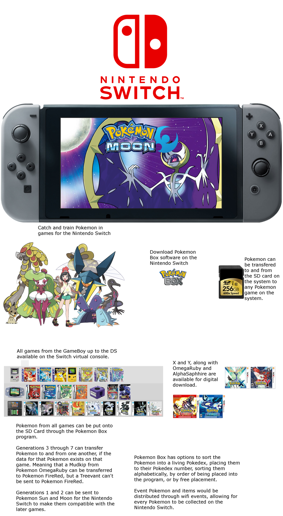 Will the next Pokemon Gen 7 games be on the new Nintendo