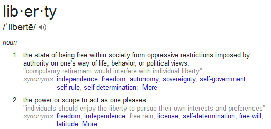 What Is The Difference Between Freedom Liberty Quora