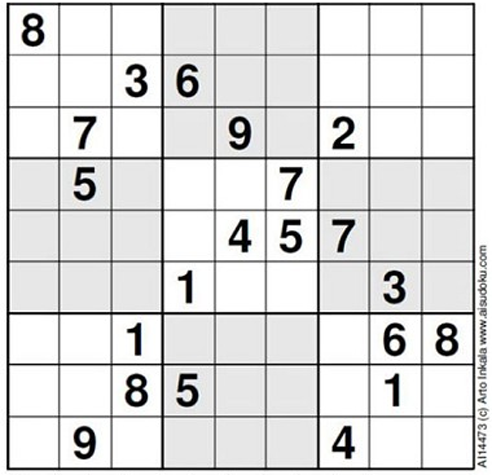 Which is the best puzzle quora in 2012 finnish mathematician arto inkala claimed to have created the worlds hardest sudoku according to the british newspaper the telegraph fandeluxe Image collections