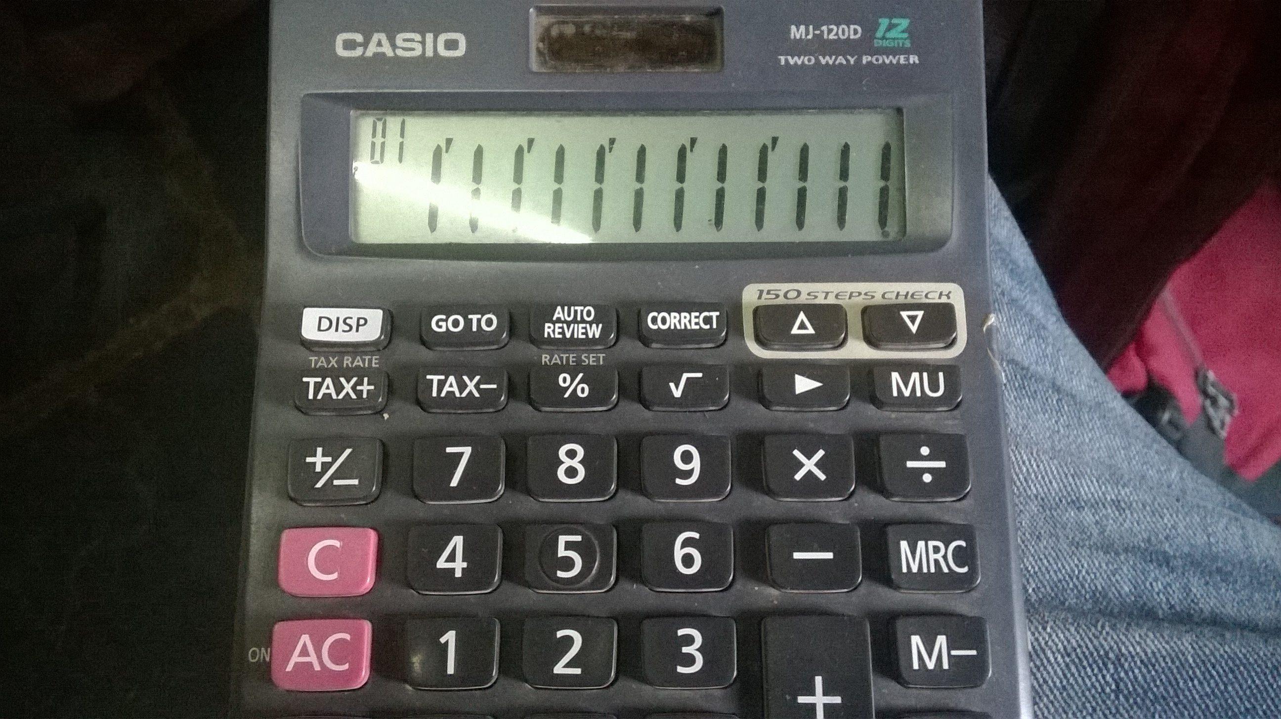 Calculator Tricks