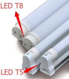 What are the differences between LED tubes T5 and T8? - Quora