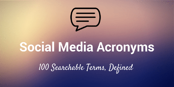 Take The Social Media Acronym Quiz!