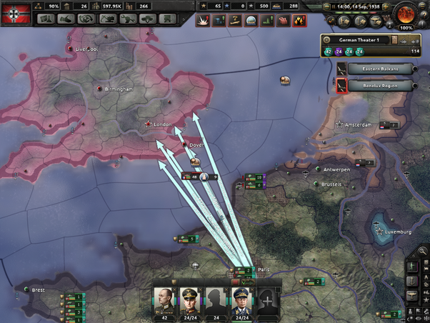 What is the best strategy for winning the war as Germany in Hoi4