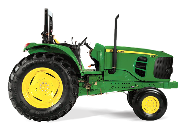 Large Tractor Wheels : Why do some vehicles have small wheels in the front and