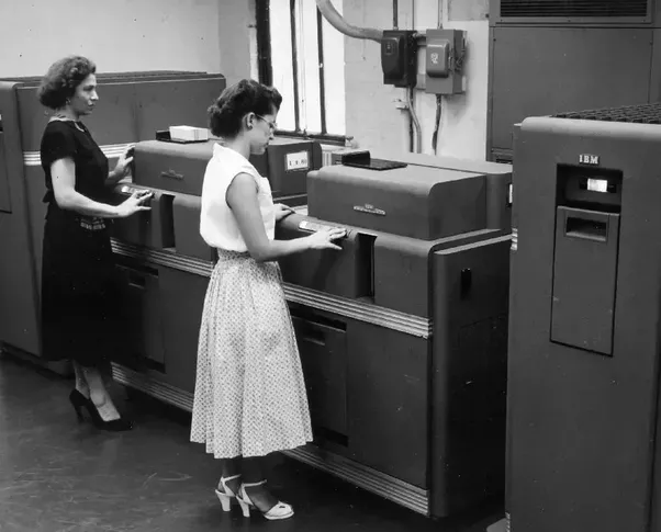 What Did Computers Look Like In The 1950s Quora